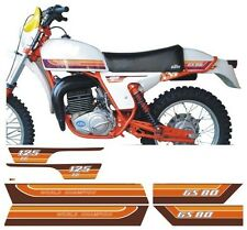 Kit compl.adesivi KTM GS 80 125 1979 cristal - adesivi/adhesives/stickers/decal