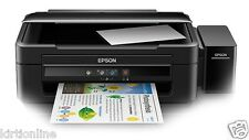 EPSON L-380 ALL IN ONE PRINTER WITH ORIGINAL INKTANK WITH 2 Extra Black ink