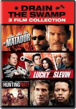 Drain The Swamp: 3 Film Collection-The Matador, Lucky#Slevin & The Hunting Party