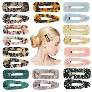 Resin Hair Clips Geometric Hairpins Hair Barrettes Women Girls Hair Accessories#