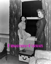 """MARILYN MONROE & DONNA CORCORAN 8x10 Lab Photo 1952 """"DON'T BOTHER TO KNOCK"""" #1"""