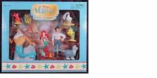 RARE DISNEY THE LITTLE MERMAID PLAYSET DISNEY PARK ERIC SEBASTIAN FLOUNDER KING