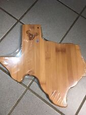 Houston Texans Wood Cutting Board - 2017 Season Ticket Holder Gift NFL Texas