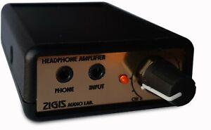 DC CMoy Portable Headphone Amplifier with 5.5/2.1mm DC input socket amp Headamp