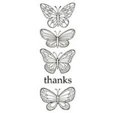 Woodware Clear Singles  Stamp - Butterflies JGS483 NEW