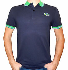 Lacoste Brazil Flag Croc Polo Shirt Men's (PH2669) Authentic Size L New