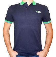 Lacoste Brazil Flag Croc Polo Shirt Men's (PH2669) Authentic Size L New