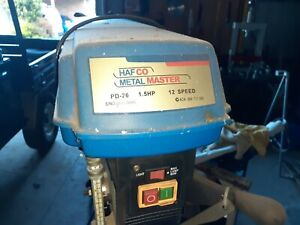 Hafco PD 26 Heavy Duty Belt Drive Pedestal Drill Very good condition