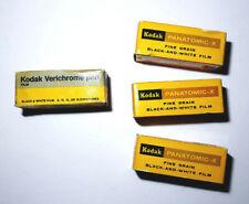 KODAK PANATOMIC-X (FX) + VERICHROME PAN (VP) *120* ROLL FILM