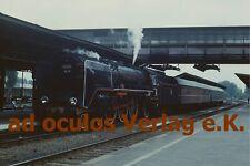 Original-Farbdia PKP Pm 2 21 (DRG 03) Glogow 30.5.1977  E4448