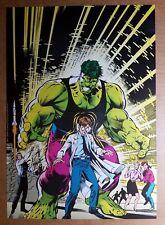 New ListingIncredible Hulk Bruce Banner Marvel Comics Poster by Dale Keown