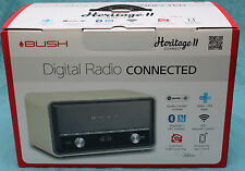 Bush Heritage II WD Connected WI-Fi Multi-room Internet DAB FM Spotify AS NEW!