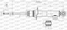 AMORTISSEUR (à L'UNITé) POUR MITSUBISHI L 200 / TRITON 2.5 DI-D 4WD,2.5 DID