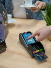 *New Verifone V200c Credit Card Machine with the lowest 0.15% Processing