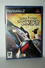 STAR TREK SHATTERED UNIVERSE USATO BUONO SONY PS2 EDIZIONE ITALIANA FR1 41260
