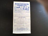 PORTSMOUTH V SUNDERLAND 1950/51