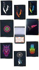 Pochette Etui Protection Porte Carte credit, bancaire, fidelite, 24 vues plume