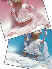 COMPLETE SET FOR DOLL 16 INCH SIZE KNITTING PATTERN BY EMAIL (869)
