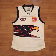West Coast Eagles 2005 Puma AFL White Training Jumper Guernsey Mens Large
