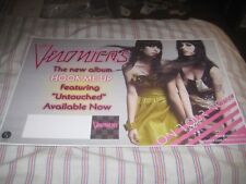 The Veronicas-(hook me up)-1 Poster-11X17 Inches-Nmint-Rare!