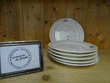 6 assiettes XS Stackable Pieter Stockmans Royal Boch