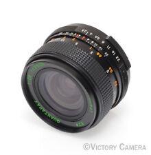 Quantaray 28mm f2.8 m42 Pentax Screw Mount Lens (73s-15)