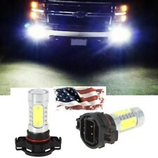 NEW HID White 6500K  5202 H16 LED Daytime Running DRL Fog Lights Bulbs Lamps US