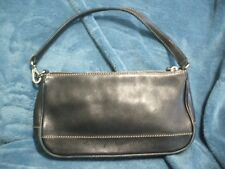 6a60820a7b Coach Small Black Leather Handbag Purse   7785 EUC