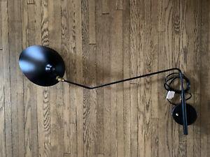 Stilnovo Koge Midcentury Wall Lamp Serge Mouille LBW015BLKD