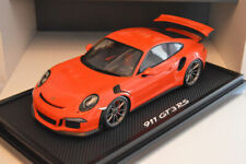 Porsche 911 GT3 RS Orange Lave 1/12 Spark WAX02200002