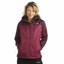 Regatta Allpeaks Womens Performance Waterproof Breathable Jacket Purple Size 20