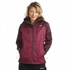 Regatta Allpeaks Womens Performance Waterproof Breathable Jacket Purple Size 20