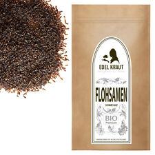 100g EDEL KRAUT | BIO Flohsamen schwarz ganz - premium organic psyllium