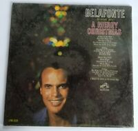 BELAFONTE To Wish you A Merry Christmas Mono 1962 LP RCA VICTOR LPM-2626  New