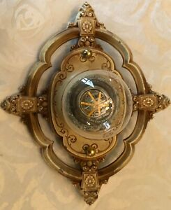 antique RIDDLE cast Light Fixture, ORIINAL FINISH