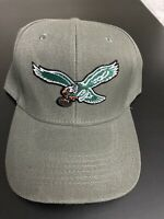 PHILADELPHIA EAGLES NFL EMBROIDERED LOGO GRAY HAT CAP ADJUSTABLE CURVED BILL NEW
