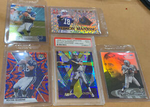 Peyton Manning PSA 9 Rookie Card Lot. HOF Inductee. 👀📈🔥🏈 Colts