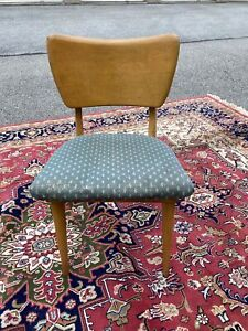 A Vintage Maple Heywood-Wakefield Mid Century Modern Desk Or Vanity Chair
