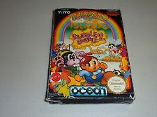 rainbow island bubble bobble 2 nes game aus pal A nintendo cib