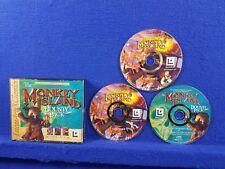 PC MONKEY ISLAND Bounty Pack 3 Game Pack Secret + 2 + Curse PAL REGION FREE