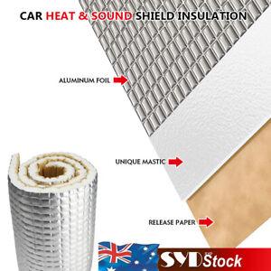 Heat Shield Auto Firewall Hood Sound Deadener Underfelt Mat Aim For Quiet Road
