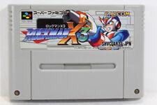 Rockman X3 Mega Man SFC Nintendo Super Famicom SNES Japan Import I7775