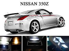 Xenon White Vanity / Sun visor  LED light Bulbs for Nissan 350Z (4 Pcs)