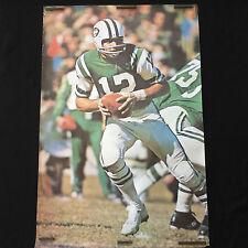 Rare Vintage 1968 Joe Namath Original Poster by Walter Iooss - Renselaar Corp