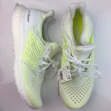 Adidas Ultraboost Clima White Solar Yellow Ultra Boost Mens Size 8.5 AQ0481 NEW