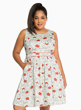 TORRID Disney Winnie the Pooh Crossback Skater Dress NWT SZ 20*