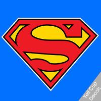 Superman Vinyl Decal Sticker Comic Superhero logo Window Car Truck for yeti cup