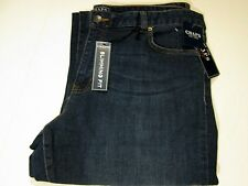 Chaps Madden Straight Leg Slimming Fit Desert Wash Denim Jeans Petite Sizes -