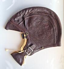 Original WW2 USN Navy Pilot Flight Leather Helmet NAF 1092 Slote & Klein