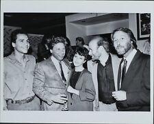 Paul Regina , Robert Walden, Gary Keeper, Steve Hewitt ORIGINAL PHOTO HOLLYWOOD